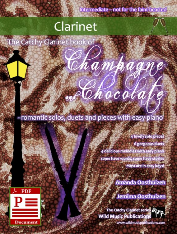 The Catchy Clarinet book of Champagne and Chocolate Download