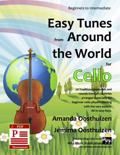 Easy Tunes from Around the World for Cello Download