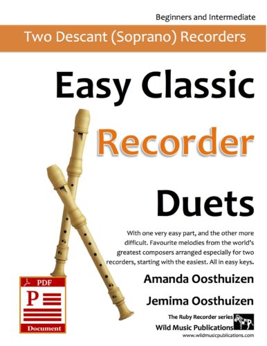 Easy Classic Recorder Duets Download