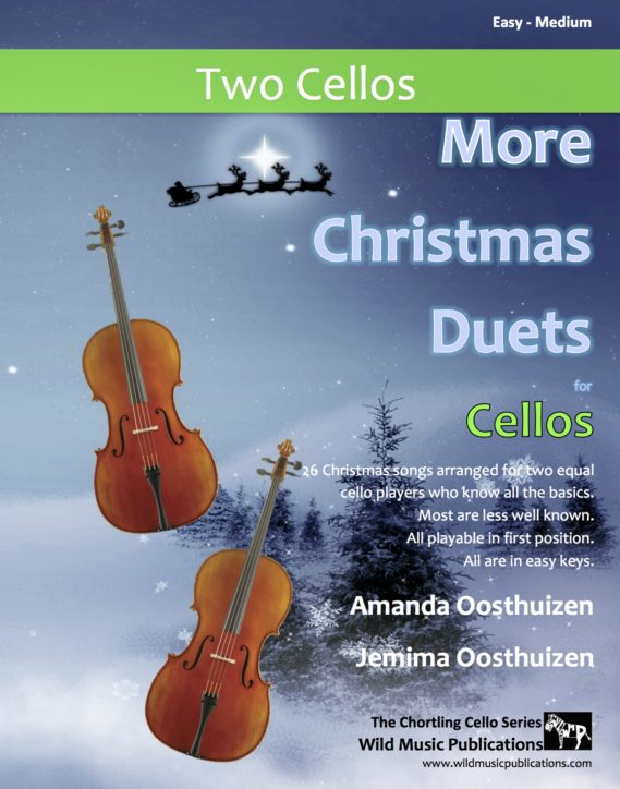 More Christmas Duets for Cello