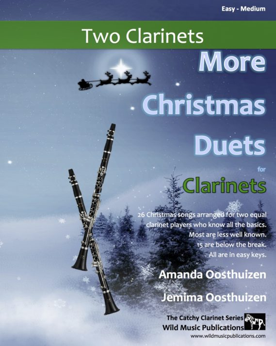 More Christmas Duets for Clarinets