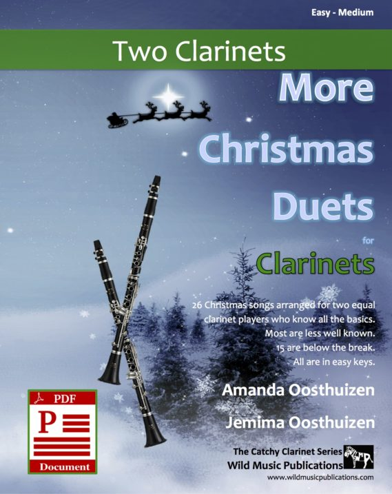 More Christmas Duets for Clarinets Download
