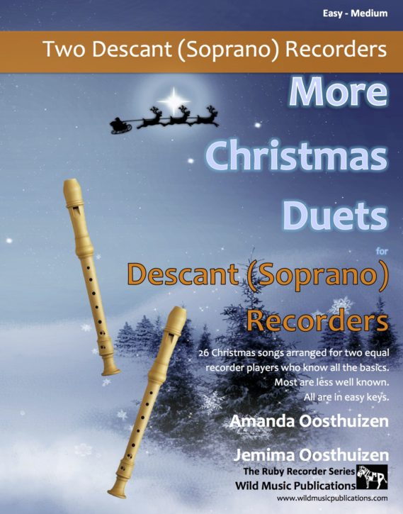 More Christmas Duets for Descant (Soprano) Recorders