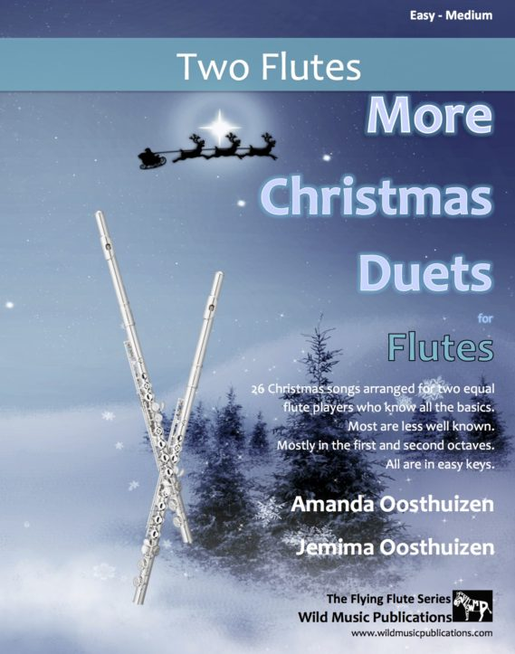 More Christmas Duets for Flutes