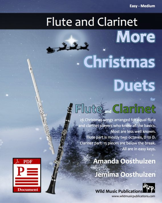 More Christmas Duets for Flute and Clarinet Download