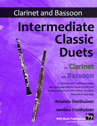 Intermediate Classic Duets for Clarinet and Bassoon