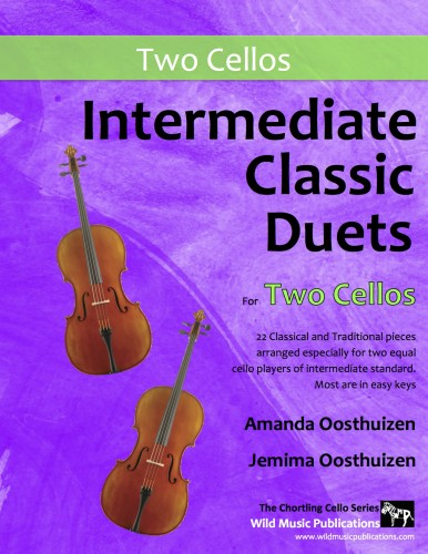 Intermediate Classic Duets for Two Cellos