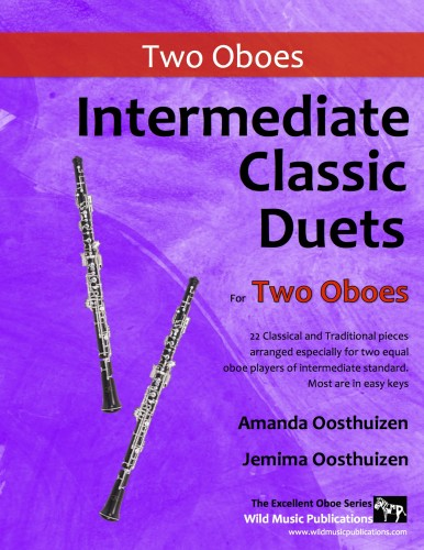 Intermediate Classic Duets for Two Oboes
