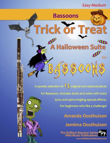 Trick or Treat - A Halloween Suite for Bassoons