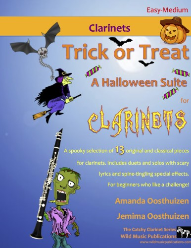 Trick or Treat - A Halloween Suite for Clarinets