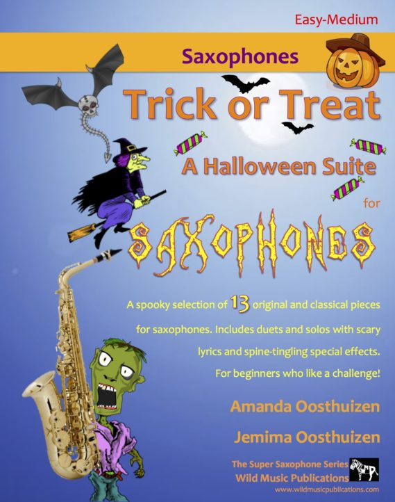 Trick or Treat - A Halloween Suite for Saxophones