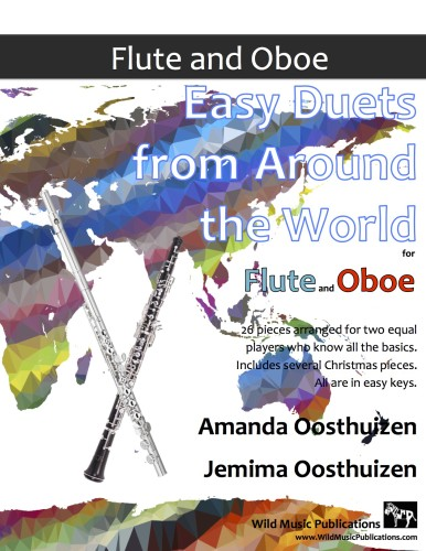 Easy Duets from Around the World for Flute and Oboe