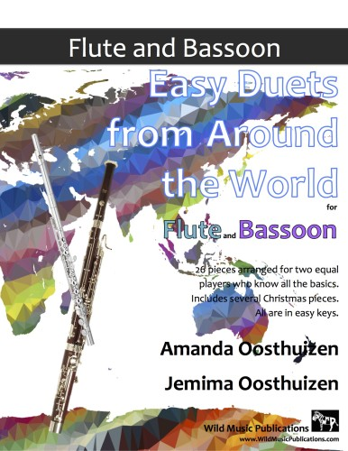 Easy Duets from Around the World for Flute and Bassoon