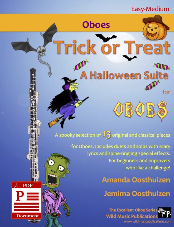 Trick or Treat - A Halloween Suite for Oboes Download
