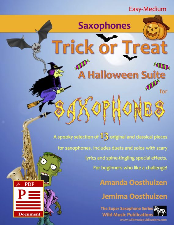 Trick or Treat - A Halloween Suite for Saxophones Download