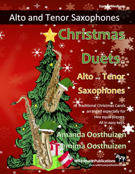 Christmas Duets for Alto and Tenor Saxophones