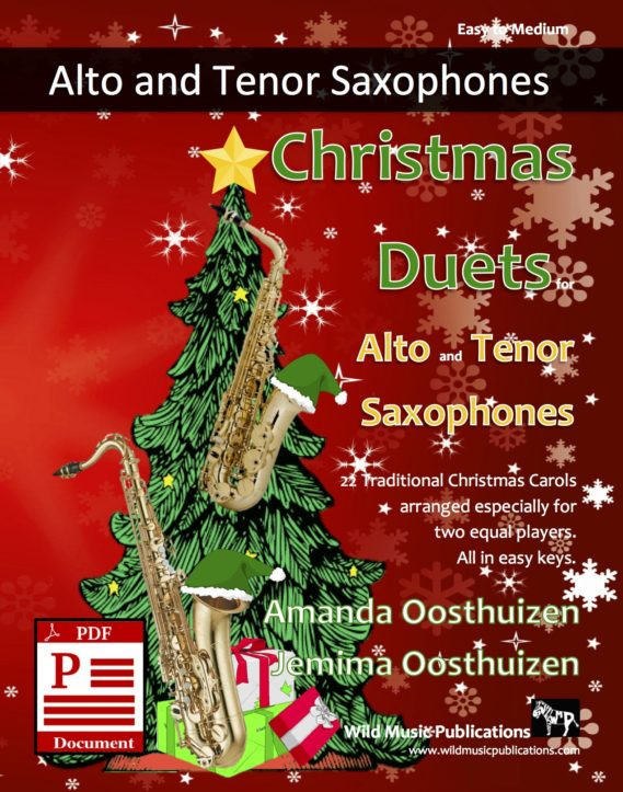 Christmas Duets for Alto and Tenor Saxophones Download