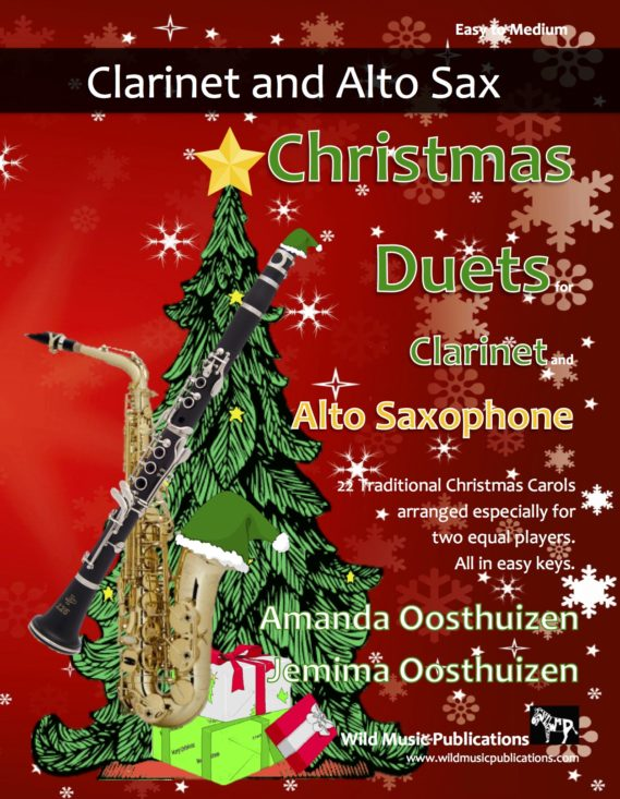 Christmas Duets for Clarinet and Alto Saxophone