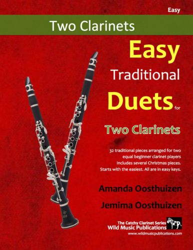 Easy Traditional Duets for Two Clarinets