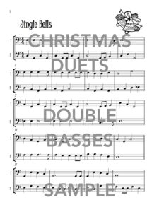 Christmas Duets for Two Double Basses Web Sample