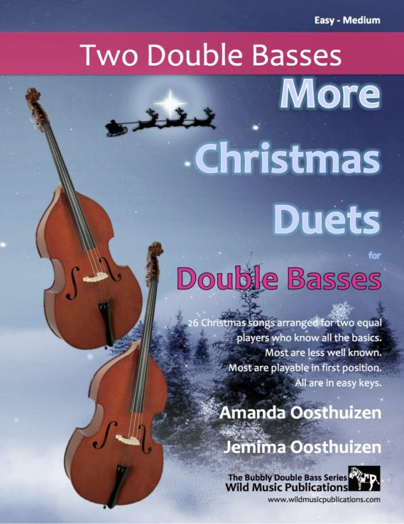 More Christmas Duets for Double Basses