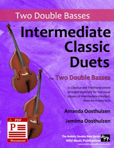 Intermediate Classic Duets for Two Double Basses Download