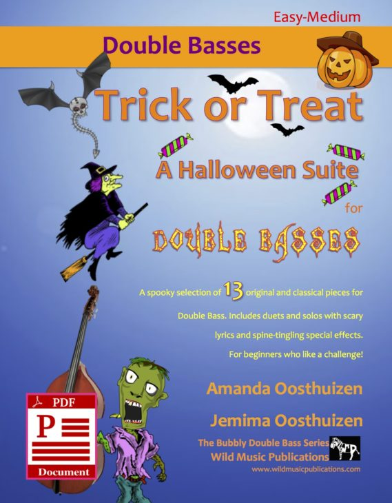 Trick or Treat - A Halloween Suite for Double Bass Download