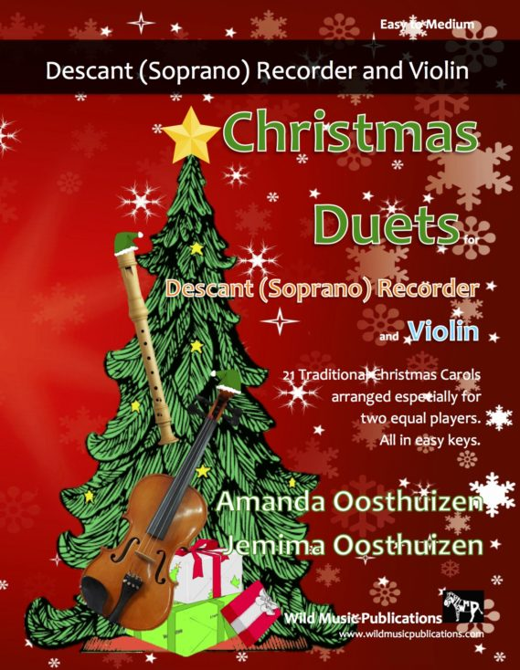Christmas Duets for Descant Recorder and Violin