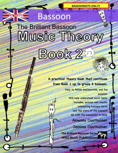 The Brilliant Bassoon Music Theory Book 2 - UK Terms
