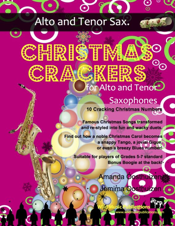Christmas Crackers for Alto and Tenor Saxophones