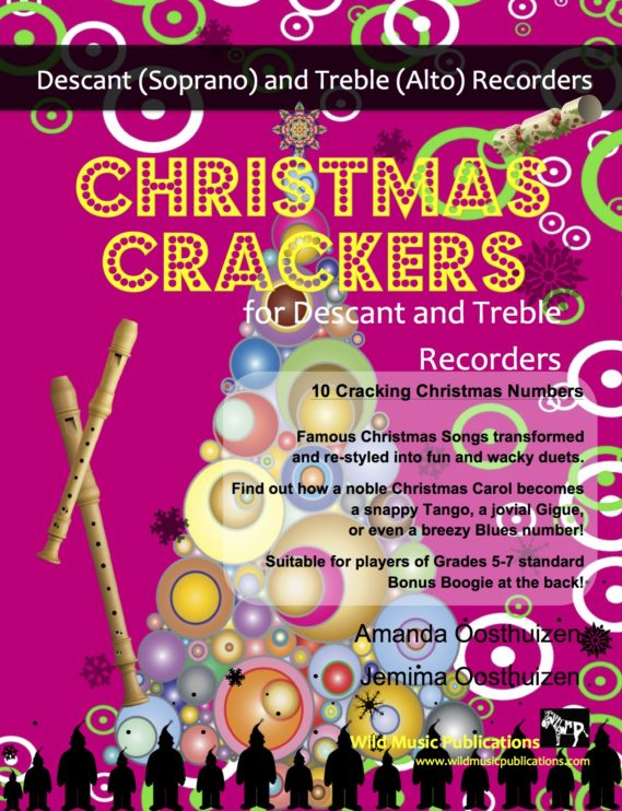 Christmas Crackers for Descant and Treble Recorders