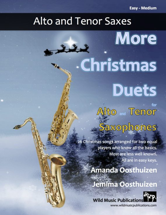 More Christmas Duets for Alto and Tenor Saxophones