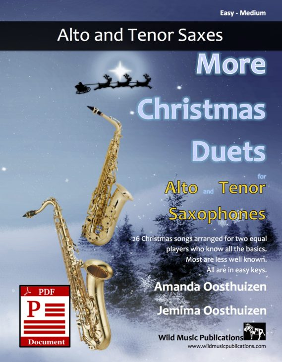 More Christmas Duets for Alto and Tenor Saxophones Download
