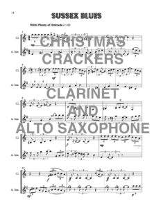 Christmas Crackers for Clarinet and Alto Saxophone Download