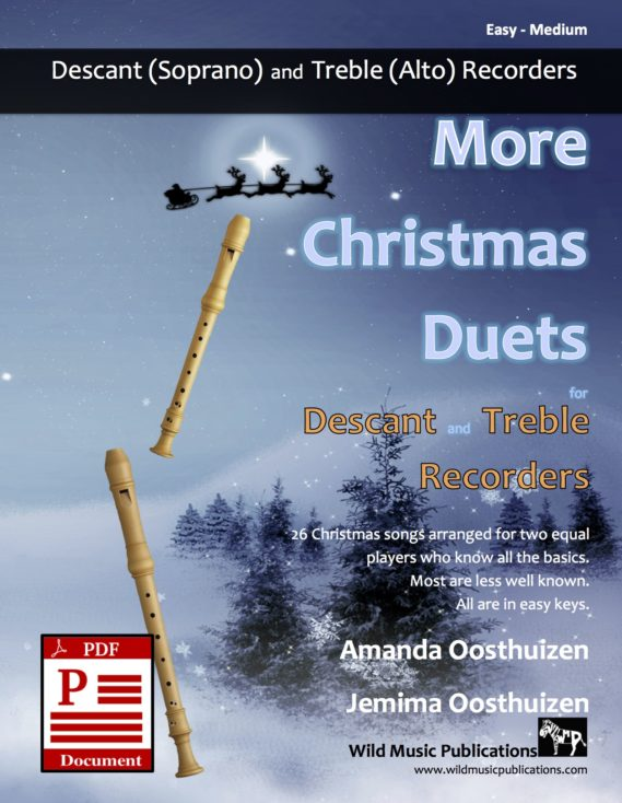 More Christmas Duets for Descant and Treble Recorders Download