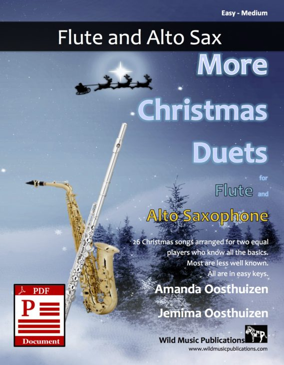 More Christmas Duets for Flute and Alto Saxophone Download