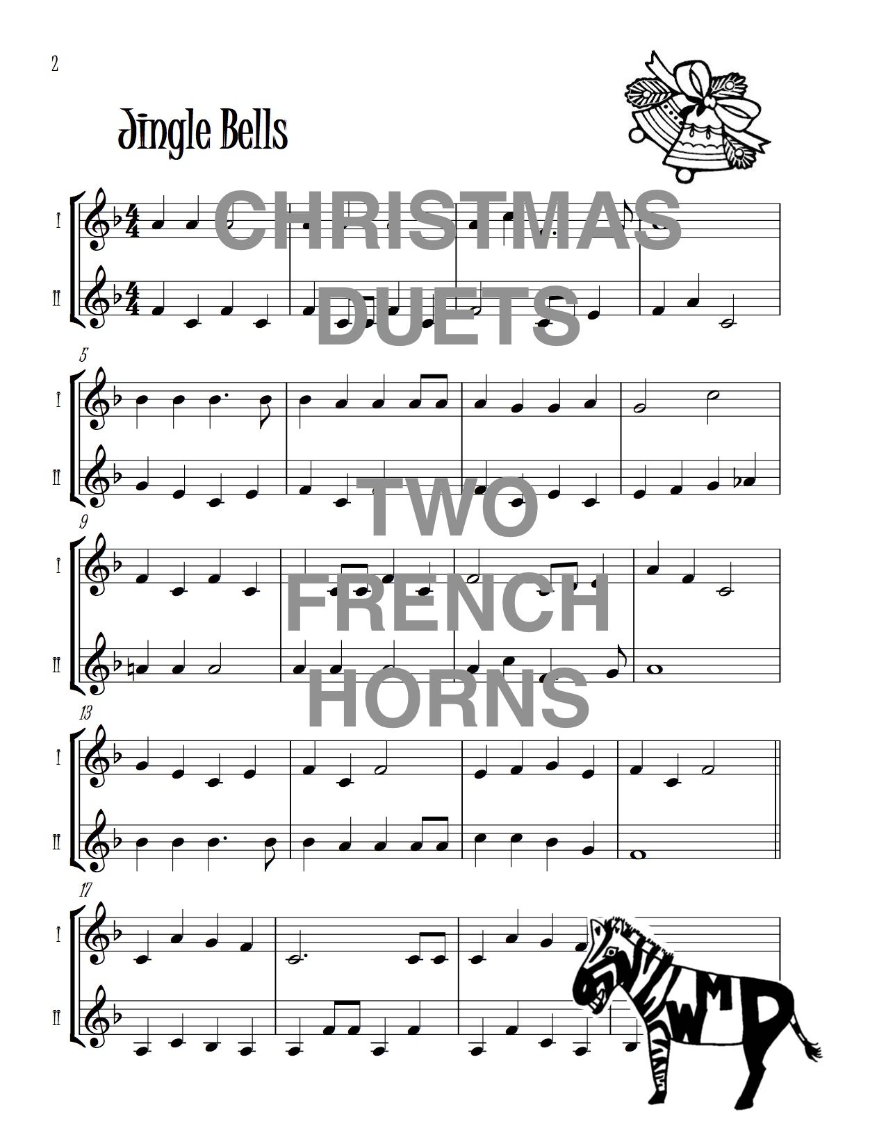 Christmas Duets.Christmas Duets For Two French Horns Download