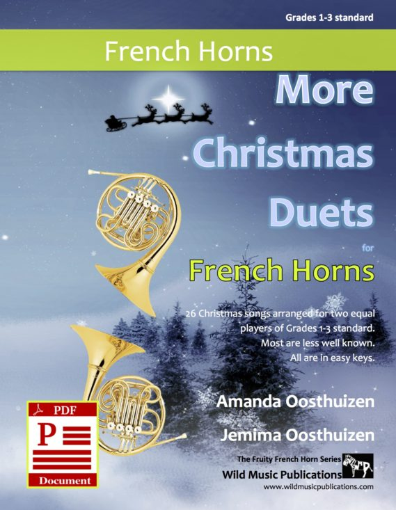 More Christmas Duets for French Horns Download
