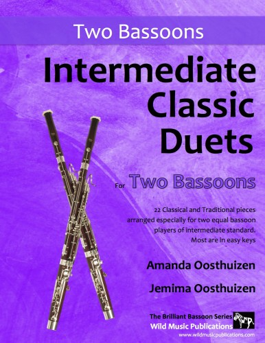 Intermediate Classic Duets for Two Bassoons