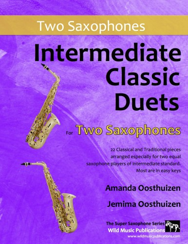 Intermediate Classic Duets for Two Saxophones