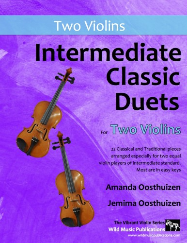 Intermediate Classic Duets for Two Violins