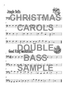 The Bubbly Bass Book of Christmas Carols Web Sample