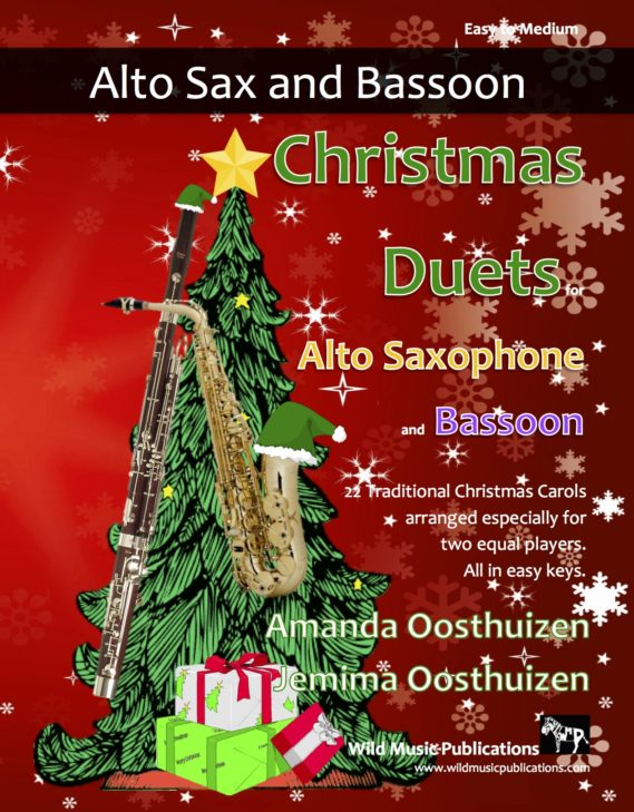 Christmas Duets for Alto Saxophone and Bassoon