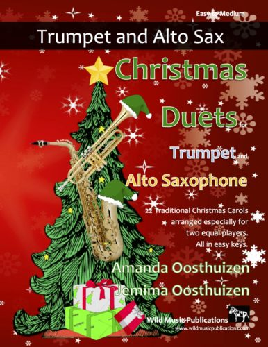 Christmas Duets for Trumpet and Alto Saxophone