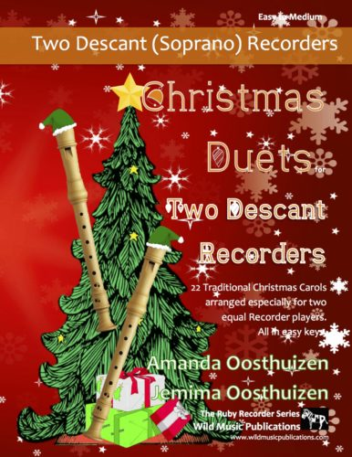 Christmas Duets for Two Descant (Soprano) Recorders