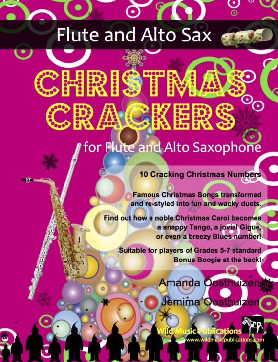 Christmas Crackers for Flute and Alto Saxophone